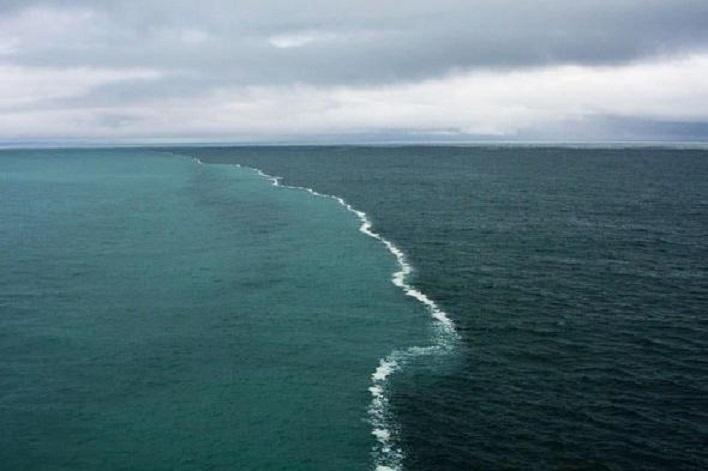 граница двух морей