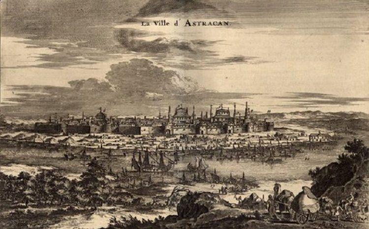 астраханская губерния в 19 веке