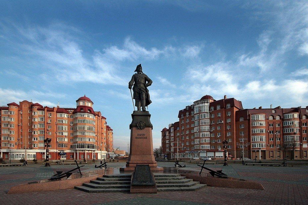 города Астраханской губернии