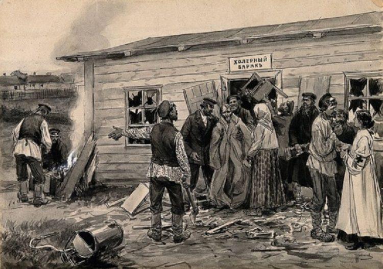 эпидемии в истории