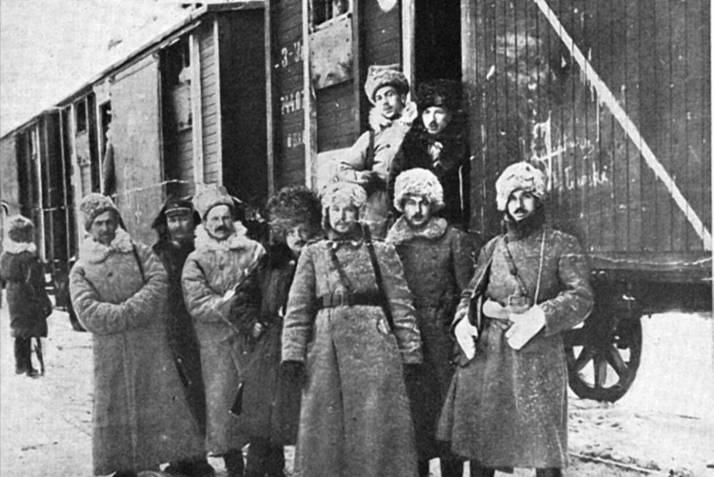 польские легионеры в сибири