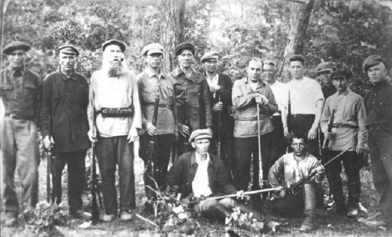 партизанские отряды сибири в годы гражданской войны