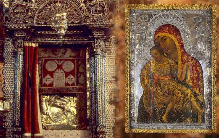 Чудотворная икона Богородицы Елеуса